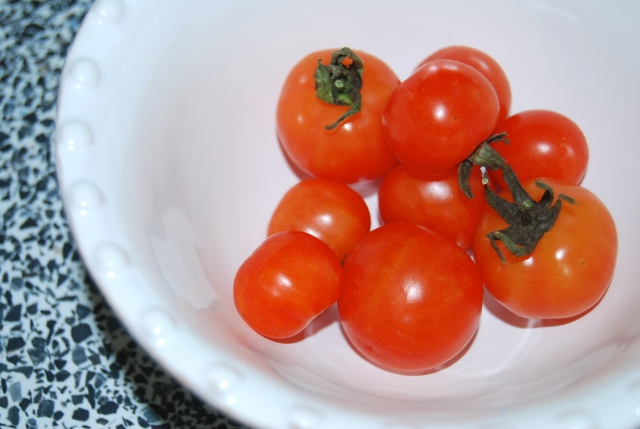The tomatoes