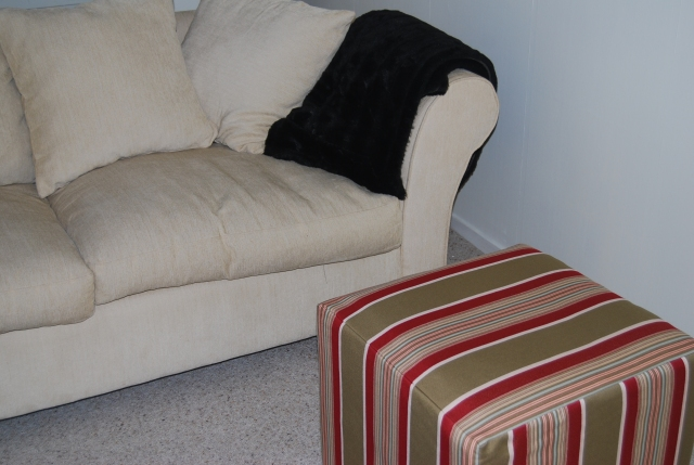 The ottoman after