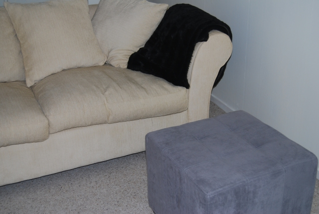 The ottoman before