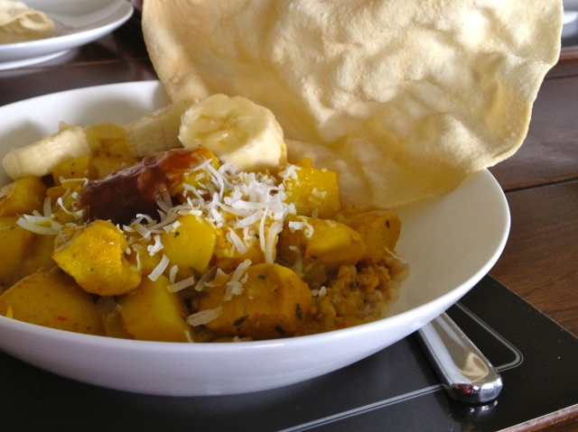 Chicken, Potato & Coconut Curry