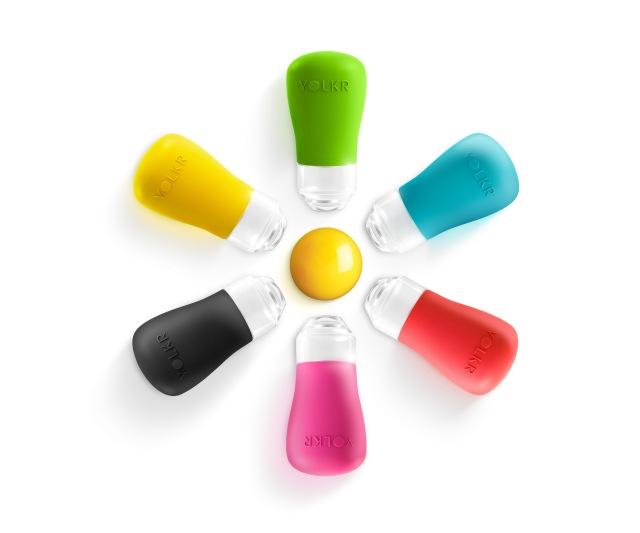 Yolkr Egg Separator colours