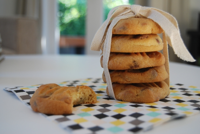 The best ever  Milk and White Chocolate Chip Bikkies