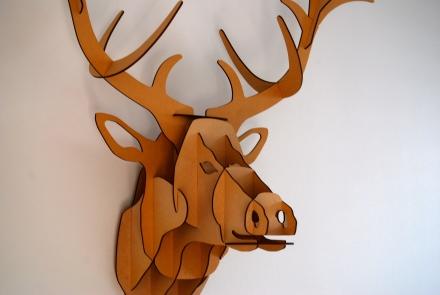 Derek the Deer Head