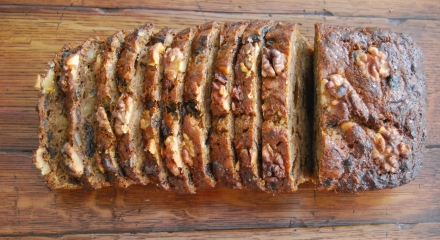 Banana, Prune and Walnut Loaf