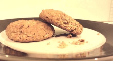 Golden Oat Cookies