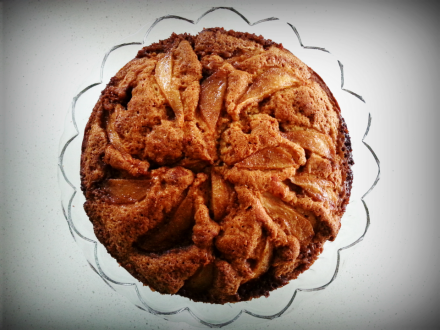 Pear and Ginger Cake
